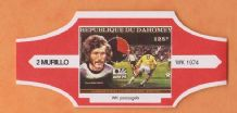 1974 World Cup Cigar Band West Germany Paul Breitner (Red)